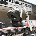 Onsite Tyre Fitting Via Grab Truck Tyre Hand