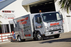 Brisbane fiting truck at QLD branch MED